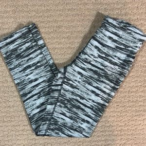 High Energie Zebra Like Striped Leggings